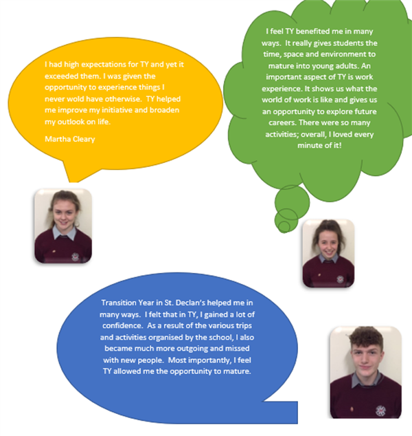 Transition Year and Work Experience